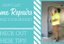 Are you needing to do some home repairs but do not want to spend a ton of money? You can definitely do some some needed work on your home without damaging your budget! Check out these tips!
